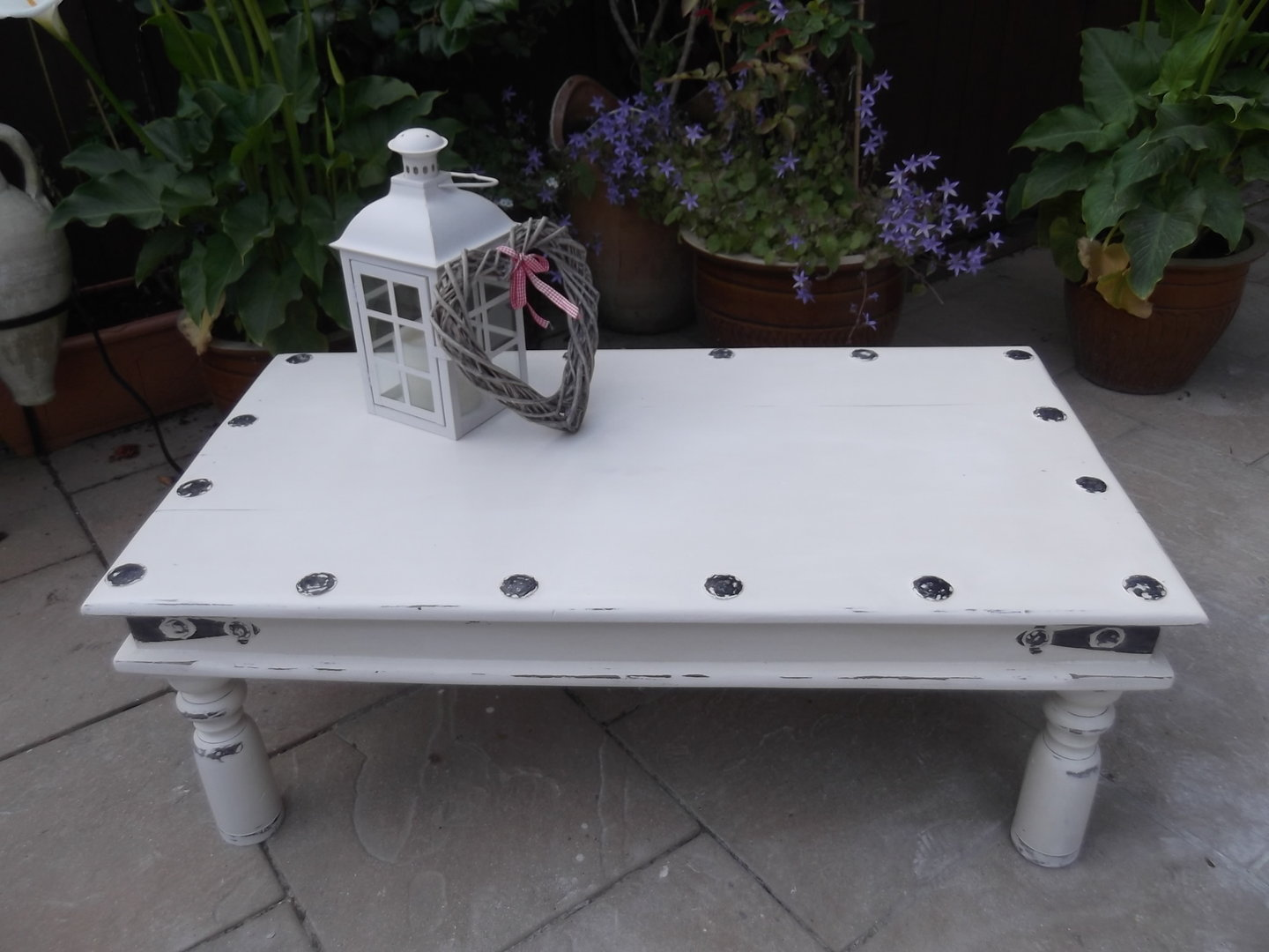 Rustic Shabby Chic Coffee Table Sold Moonstripe