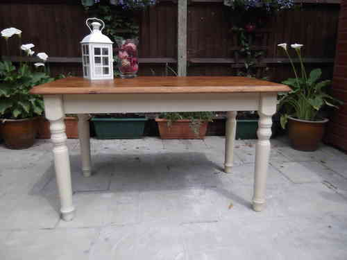 Country Farmhouse table   # # #  SOLD  # # #