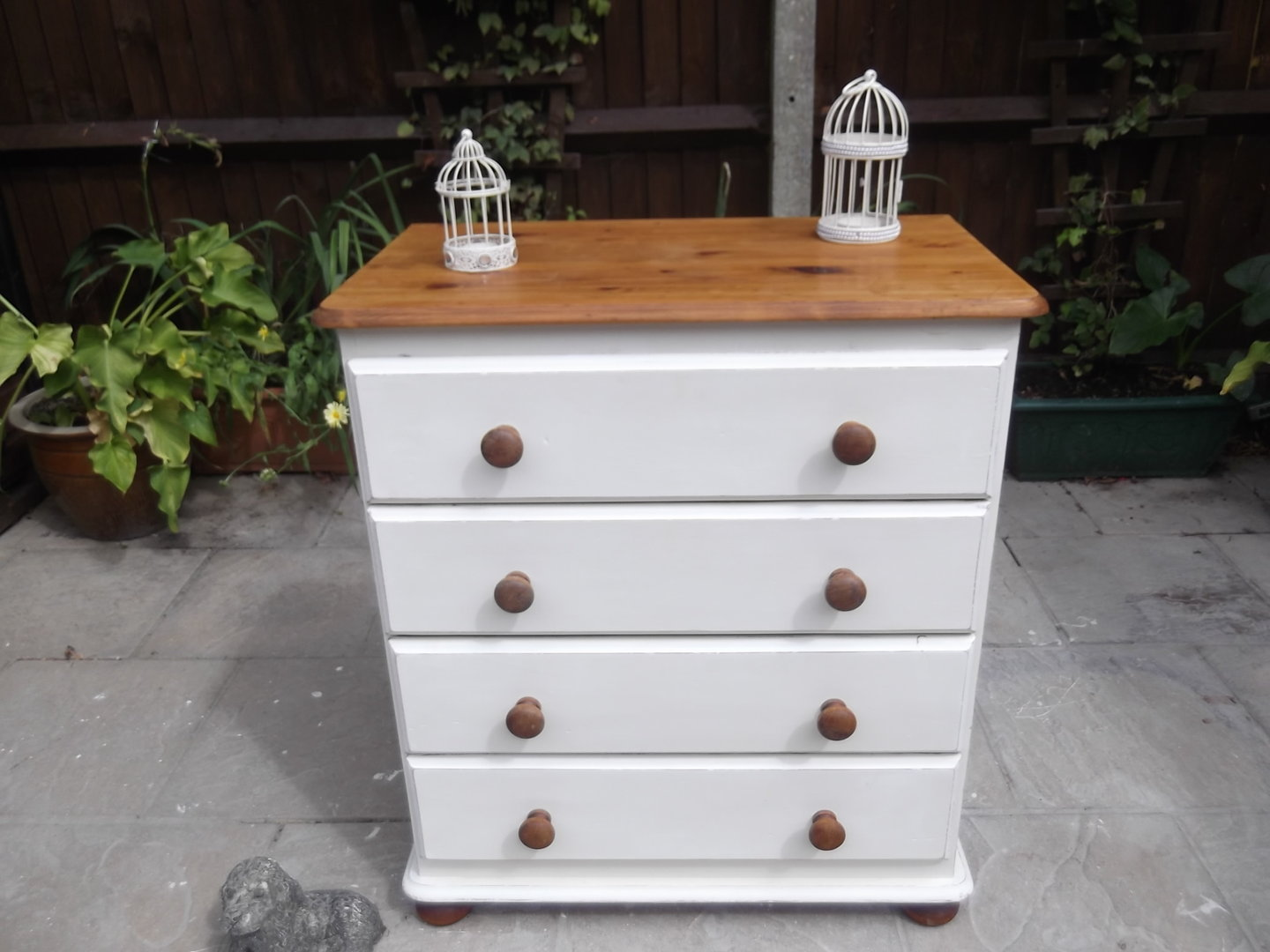 vintage pine farmhouse chest of drawers sold. Black Bedroom Furniture Sets. Home Design Ideas