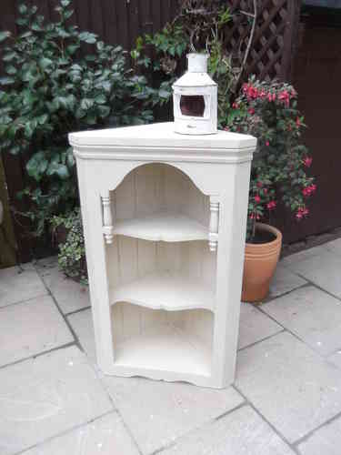 Lovely solid Pine , large corner shelf unit  # # # SOLD  # # #