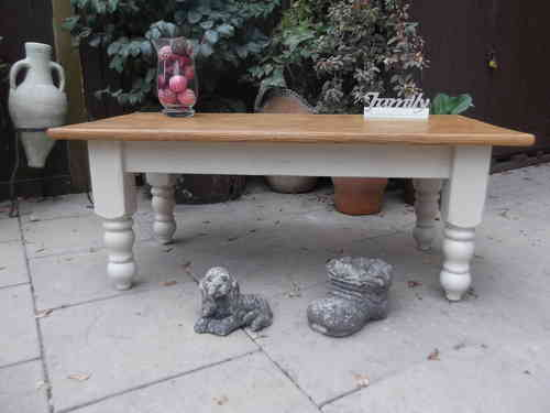 Large , Farmhouse coffee table # # # SOLD  # # #