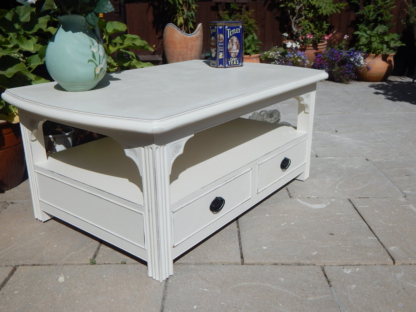 Shabby Chic Georgian Coffee Table Sold Moonstripe