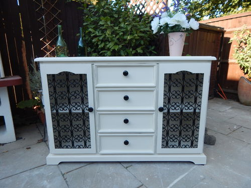 GORGEOUS SHABBY CHIC SIDEBOARD ## # SOLD # # #