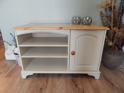 PINE , SHABBY CHIC TV CABINET # # SOLD # #