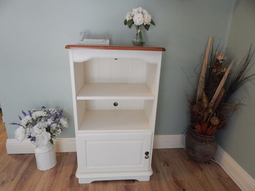 V CABINET / ENTERTAINMENT CENTRE , FARMHOUSE, SOLID PINE , SHABBY CHIC # # # SOLD # # #