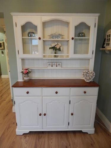 GORGEOUS COUNTRY FARMHOUSE PINE WELSH DRESSER # # # SOLD # # #