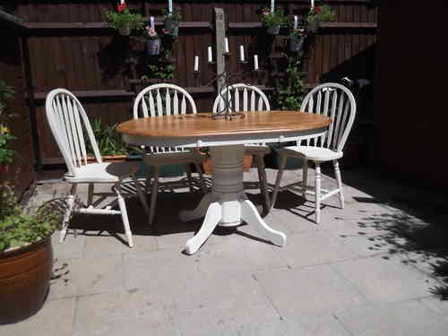 Dining table and 4 chairs  #  #  #  SOLD  #  #  #