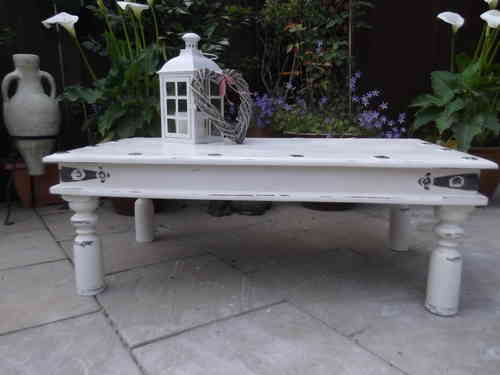 Rustic , Shabby Chic Coffee table # # # SOLD # # #