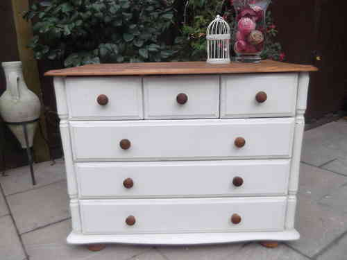 Vintage Farmhouse chest of drawers / dresser # # # SOLD # # #