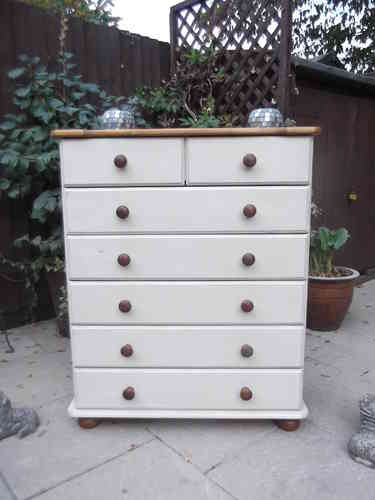 Country farmhouse chest of drawers # # # SOLD # # #