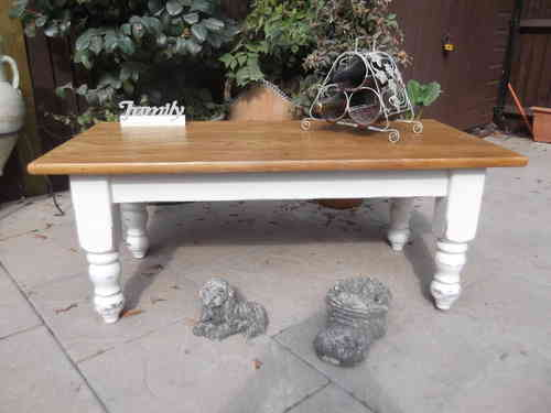 Large , Rustic , distressed coffee table # # # SOLD # # #