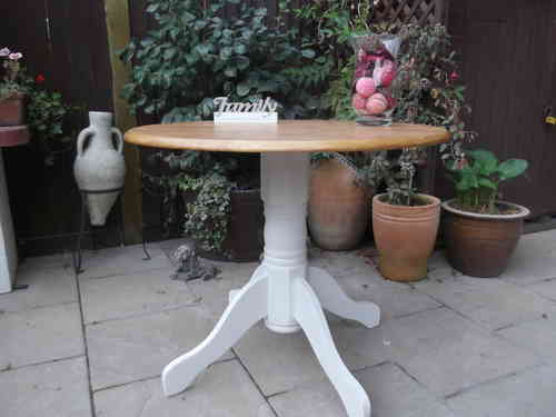 Country Farmhouse Kitchen / Conservatory table.# # # SOLD # # #