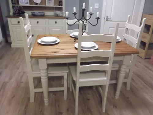 Country Farmhouse table & 4 chairs # # # SOLD # # #
