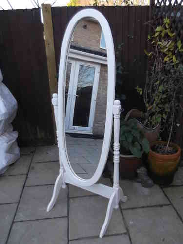 Cheval mirror # # # SOLD # # #
