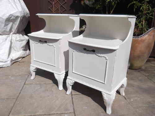 Pair of Bedside cabinets # # #SOLD # # #