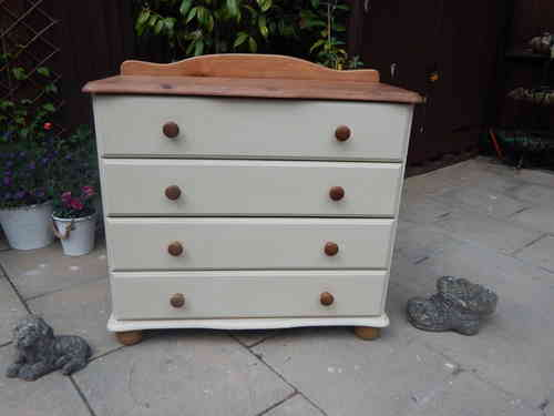 Chest of drawers , Country Farmhouse, 4 drawers # # # SOLD # # #
