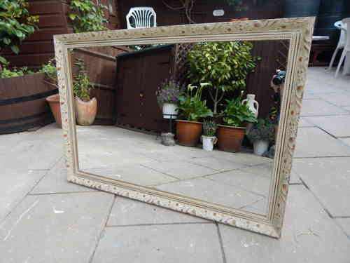 VINTAGE , SHABBY CHIC MIRROR  # # # SOLD # # #