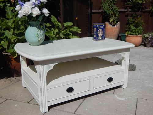 SHABBY CHIC , GEORGIAN COFFEE TABLE # # # SOLD # # #