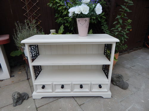 SHABBY CHIC BOOKCASE ,SHELVING UNIT # # SOLD # #