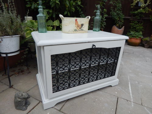 SHABBY CHIC TV CABINET # # # SOLD # # #
