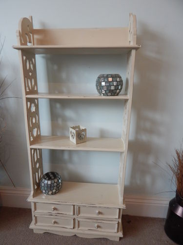 SHABBY CHIC WALL SHELF UNIT # # # SOLD # # #