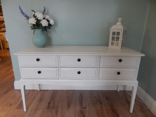 SHABBY CHIC STAG MINSTREL DRESSING TABLE / HALL TABLE (A)  # # # SOLD # # #