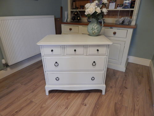 SHABBY CHIC STAG MINSTREL CHEST OF DRAWERS # # SOLD # #