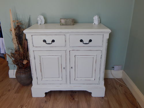 SHABBY CHIC VINTAGE SOLID PINE SIDEBOARD  # # SOLD # #
