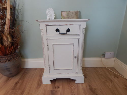 SHABBY CHIC VINTAGE SOLID PINE CUPBOARD  # # SOLD # #