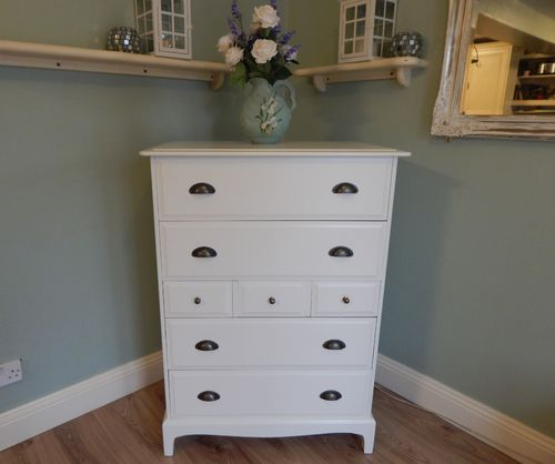 "STUNNING STAG MINSTRAL ""TALLBOY"" CHEST OF DRAWERS   # # # SOLD # # #"