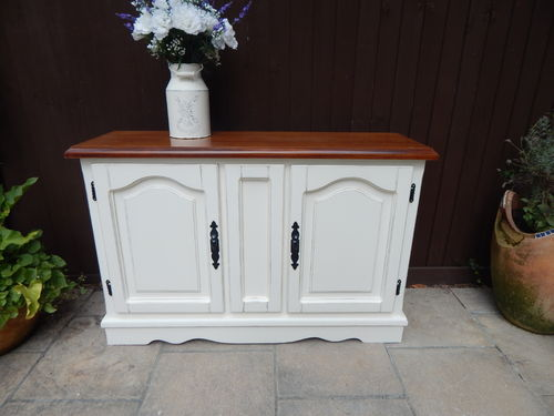 VINTAGE FARMHOUSE SIDEBOARD ,SHABBY CHIC # # # SOLD # # #