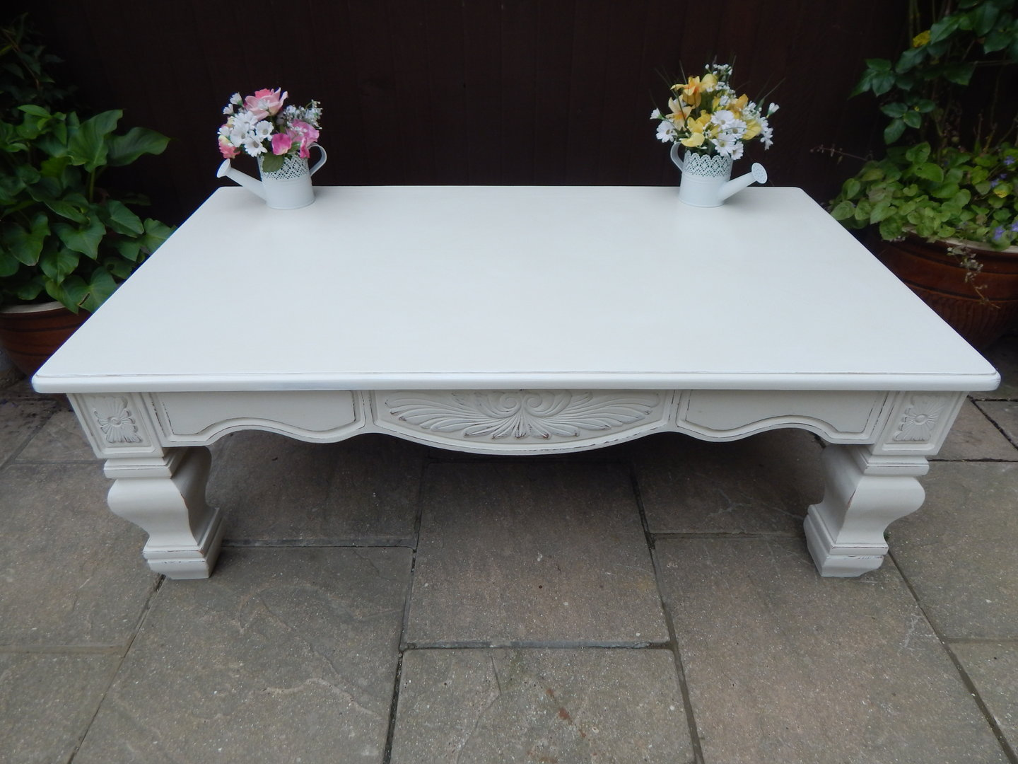 Shabby Chic Large French Country Farmhouse Coffee Table