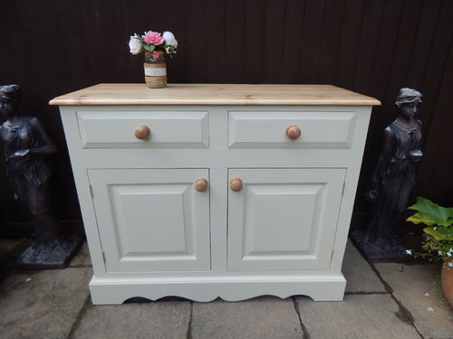 GORGEOUS VINTAGE PINE COUNTRY FARMHOUSE SIDEBOARD / DRESSER / CUPBOARD # # #SOLD # # #