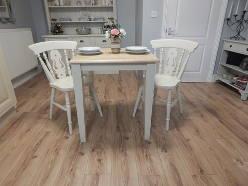 Vintage Beech Bistro Dining / Kitchen table & 2 chairs  # # #SOLD # # #