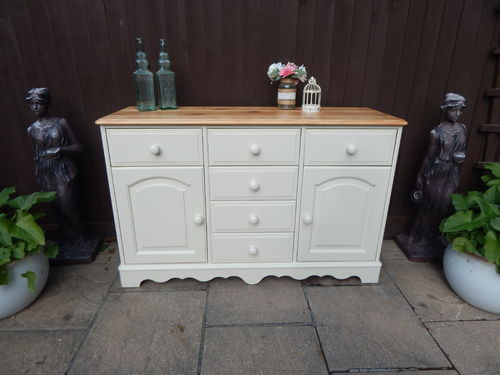 LOVELY VINTAGE PINE COUNTRY FARMHOUSE SIDEBOARD / DRESSER # # # SOLD # # #